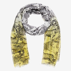 Ombre Tiger Scarf  MULTI  hi-res