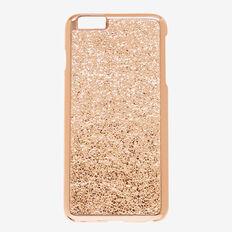 Metallic Crackle Phone Case 6+  ROSE GOLD  hi-res
