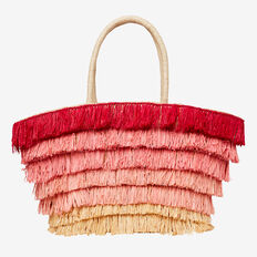 Sicilian Sunset Tote  FUSCHIA  hi-res