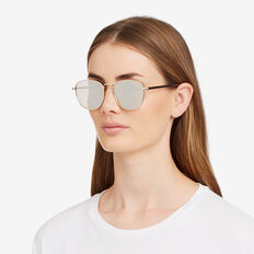 Lauren Metal Sunglasses  GOLD  hi-res