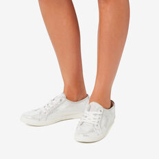 Taylor Lace Up Sneaker  SILVER  hi-res