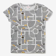 Car Map Yardage Tee  CLOUDY MARLE  hi-res