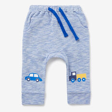 Car Knee Slub Trackie  BRIGHT COBALT SLUB  hi-res
