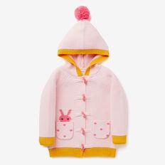 Bunny Pocket Cardigan  ICE PINK  hi-res