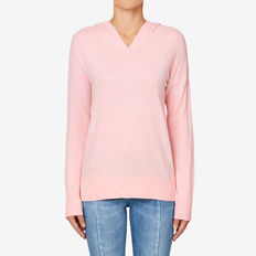 Cosy Knit Hoodie  BLOSSOM MARLE  hi-res