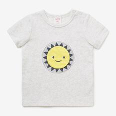 Happy Sun Print Tee  ICY MARLE  hi-res