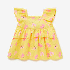 Butterfly Frill Top  LEMONADE  hi-res