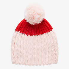 Chunky Knit Beanie  SOFTEST PINK  hi-res