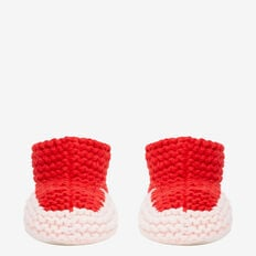Chunky Knit Bootie  SOFTEST PINK  hi-res