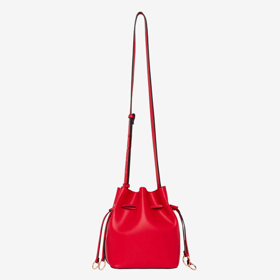 Double Ring Mini Bucket  BOLD RED  hi-res