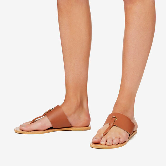 Cassie T-Bar Sandal  TAN  hi-res