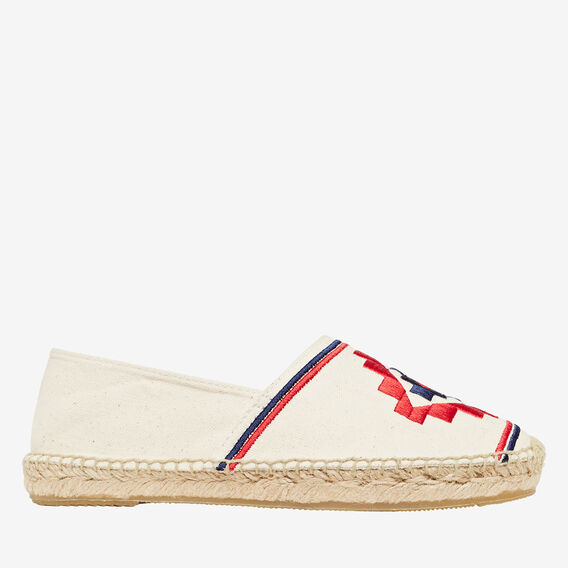 Nellie Espadrille  EMBROIDERED  hi-res