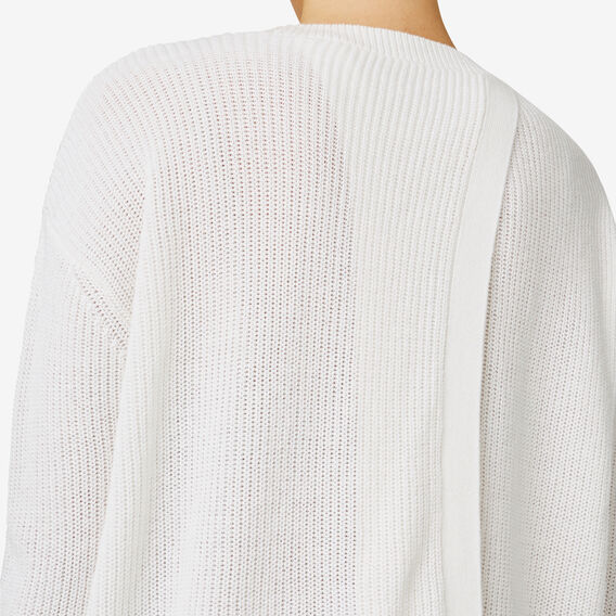 Cross Back Sweater  CANVAS  hi-res