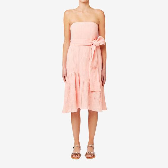 Frill Hem Dress  SOFT PINK  hi-res