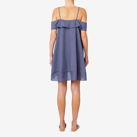 Spliced Stripe Dress  STRIPE  hi-res