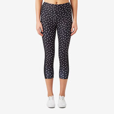 Polka Dot Legging  BLACK  hi-res