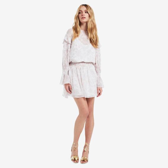 Printed Frill Dress  PAISLEY  hi-res