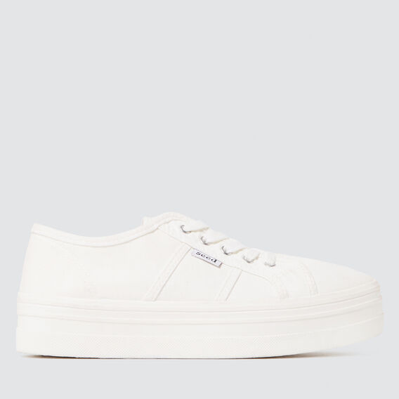 Billie Sneaker  WHITE  hi-res