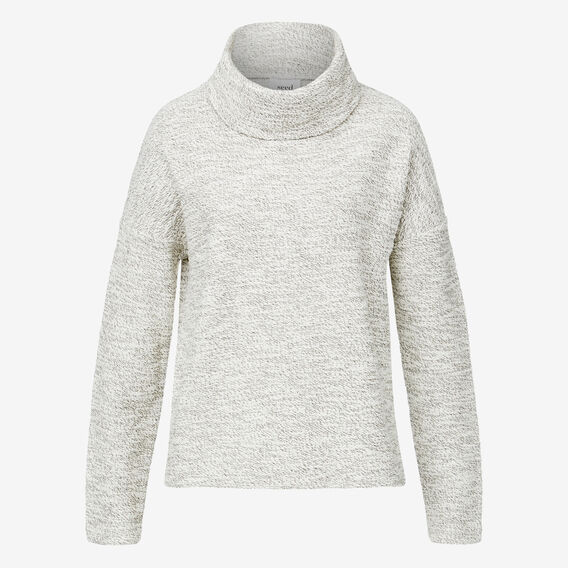 Speckle Roll Neck Top  MONO MARLE  hi-res