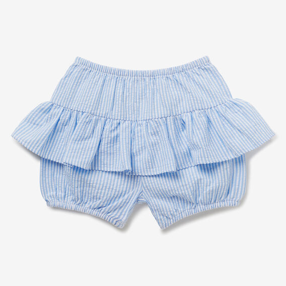 Seersucker Shorts  CORNFLOWER  hi-res