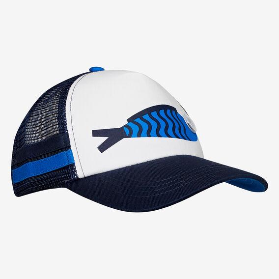 Mr Fish Cap  DEEP BLUE  hi-res