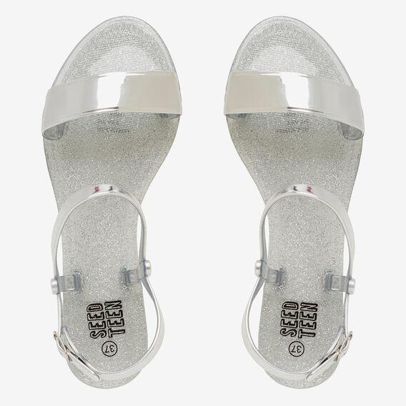 Jelly Strap Sandal  SILVER  hi-res