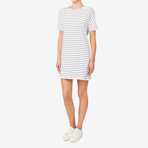 Clean Lines Dress  STRIPE  hi-res