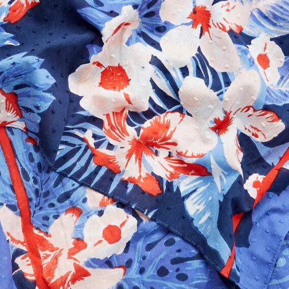 Tropical Print Scarf  MULTI  hi-res