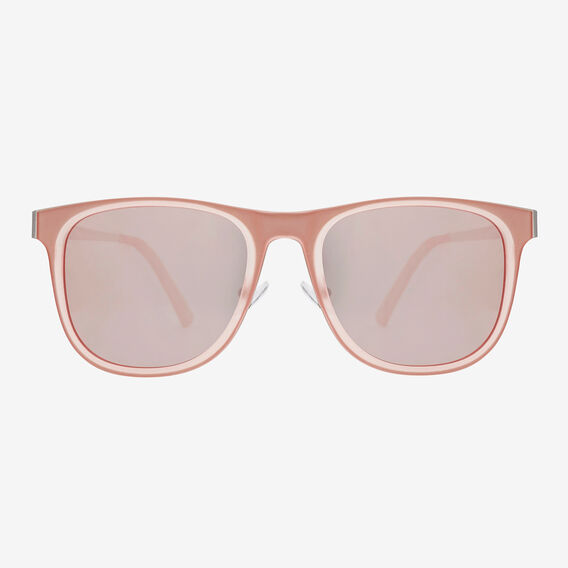 Elise Flat Revo Sunglasses  PINK  hi-res