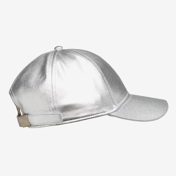 Metallic Cap  SILVER  hi-res