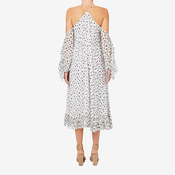 Pleat Detail Dress  MULTI  hi-res