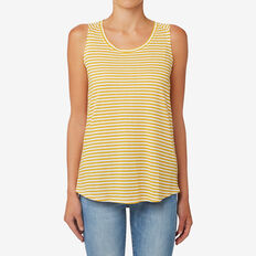 Easy Stripe Tank  HONEY STRIPE  hi-res