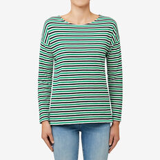 Long Sleeve Stripe Tee  STRIPE  hi-res