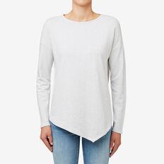 Reverse Marle Sweater  LIGHT GREY TWIST  hi-res
