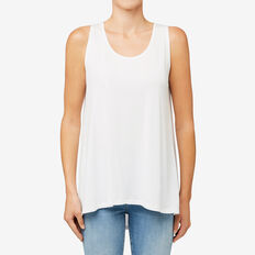 Pleat Back Tank  CANVAS  hi-res