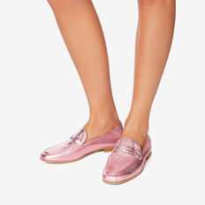 Valentina Metallic Loafer  PINK  hi-res