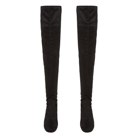 Alaia Over The Knee Boot  BLACK  hi-res