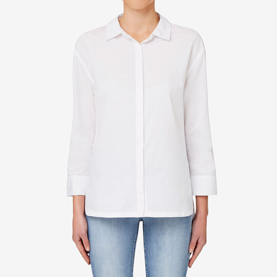 Hi Lo Hem Shirt  BRIGHT WHITE  hi-res