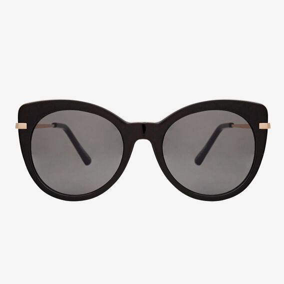 Sara Cats Eye Sunglasses  BLACK  hi-res