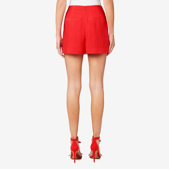 Twill Short  ROYAL RED  hi-res