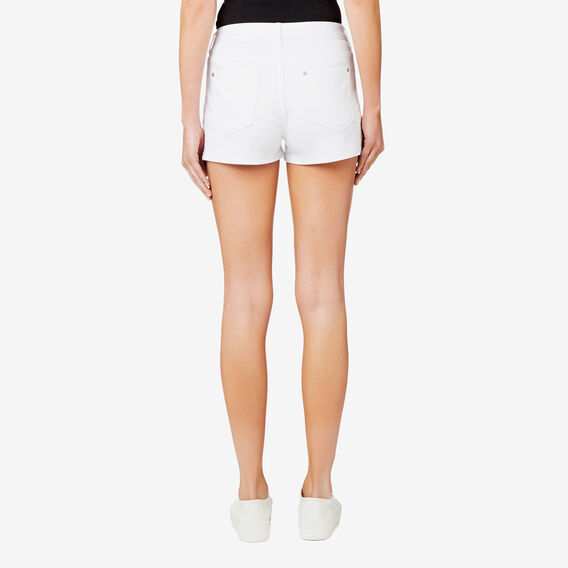 Denim Short  BRIGHT WHITE  hi-res