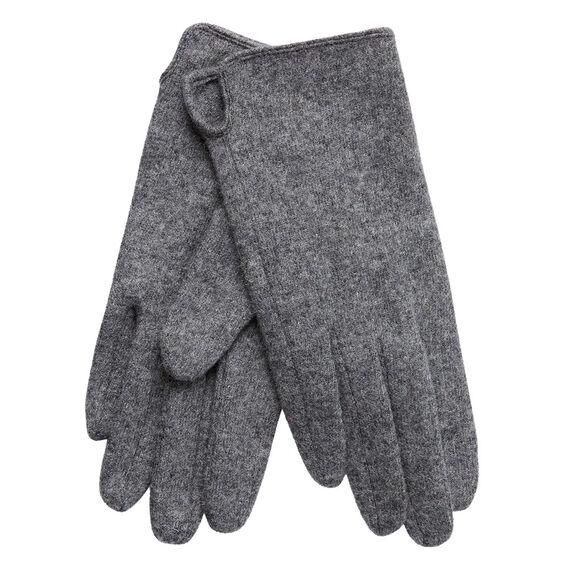 Knit Gloves  GREY MARLE  hi-res