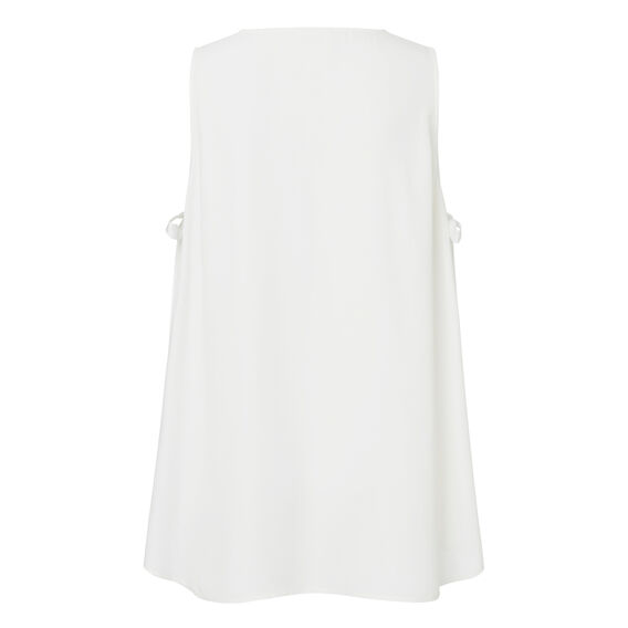 Swing Tie Top  WHITE  hi-res