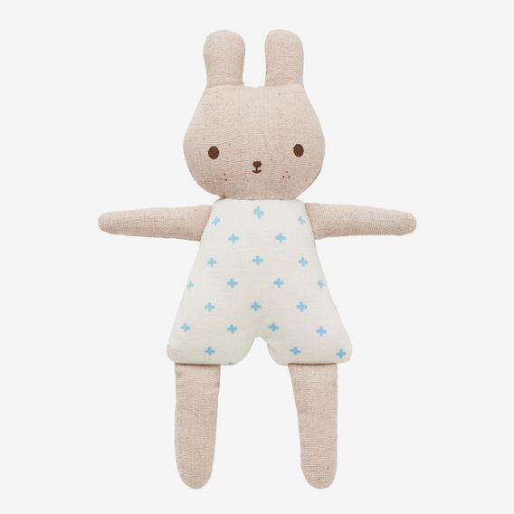 Bunny Rattle  BLUE  hi-res