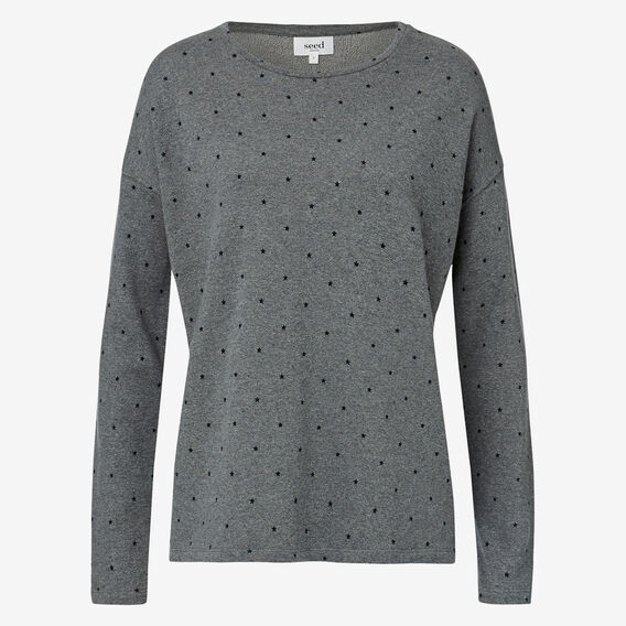 Starry Sweater  STORM GREY  hi-res