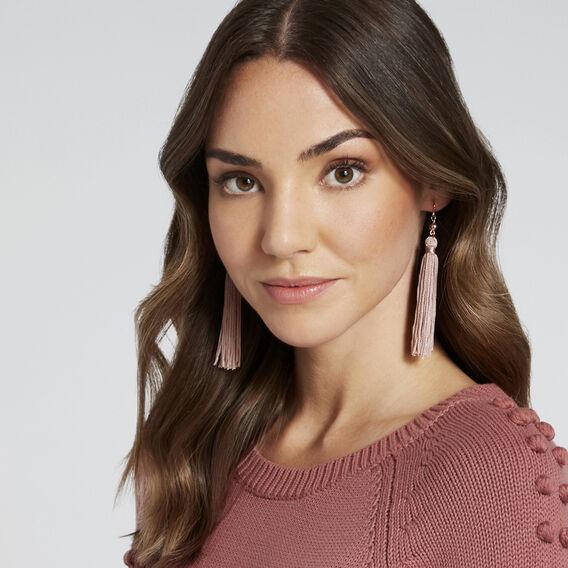Tassel Earrings  NEW NUDE  hi-res