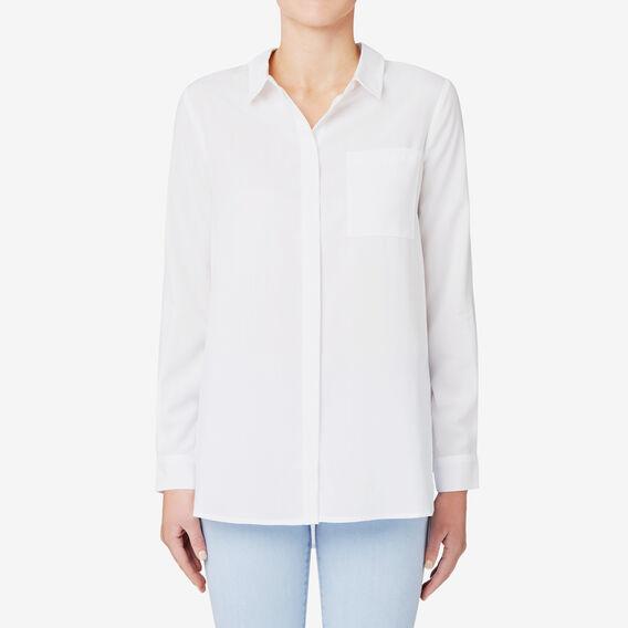Hi Lo Soft Shirt  BRIGHT WHITE  hi-res