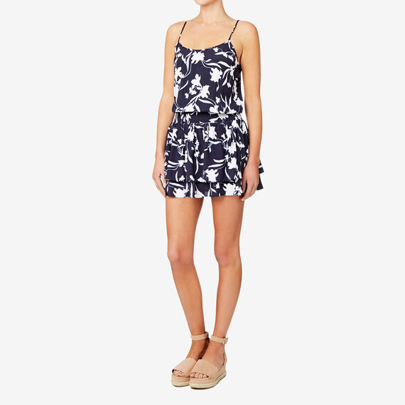 Floral Cold Shoulder Dress  FLORAL  hi-res