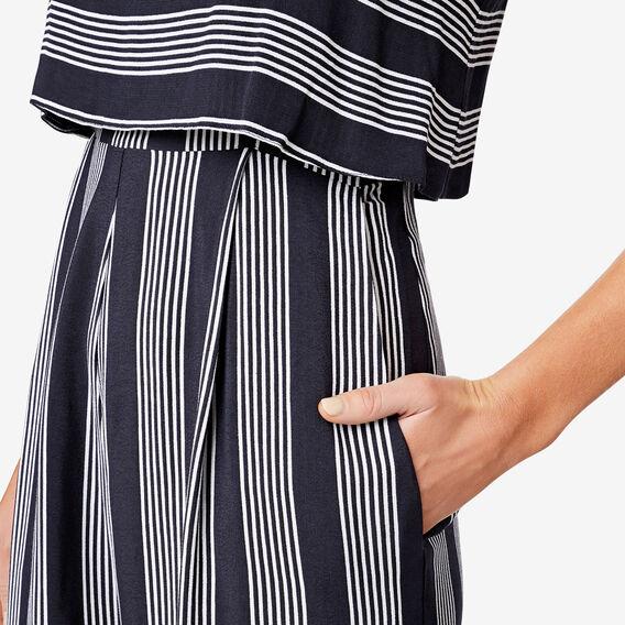 Variegated Stripe Jumpsuit  STRIPE  hi-res