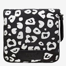 Foldaway Tote Bag  BLACK/SILVER  hi-res